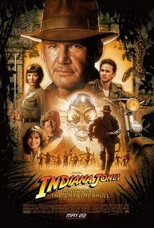Dr No vs the flying DVD : Indiana Jones 4, Starship Troopers 3, Iron Man.