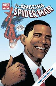 Obama aime les super héros : welcome, Mr President !
