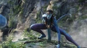 Avatar : un Na'vi contrasté.