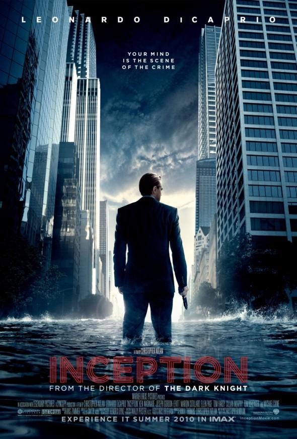 Inception : la première affiche du film