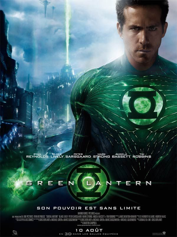 Le Bouffon Vert : critique de Green Lantern, de Martin Campbell