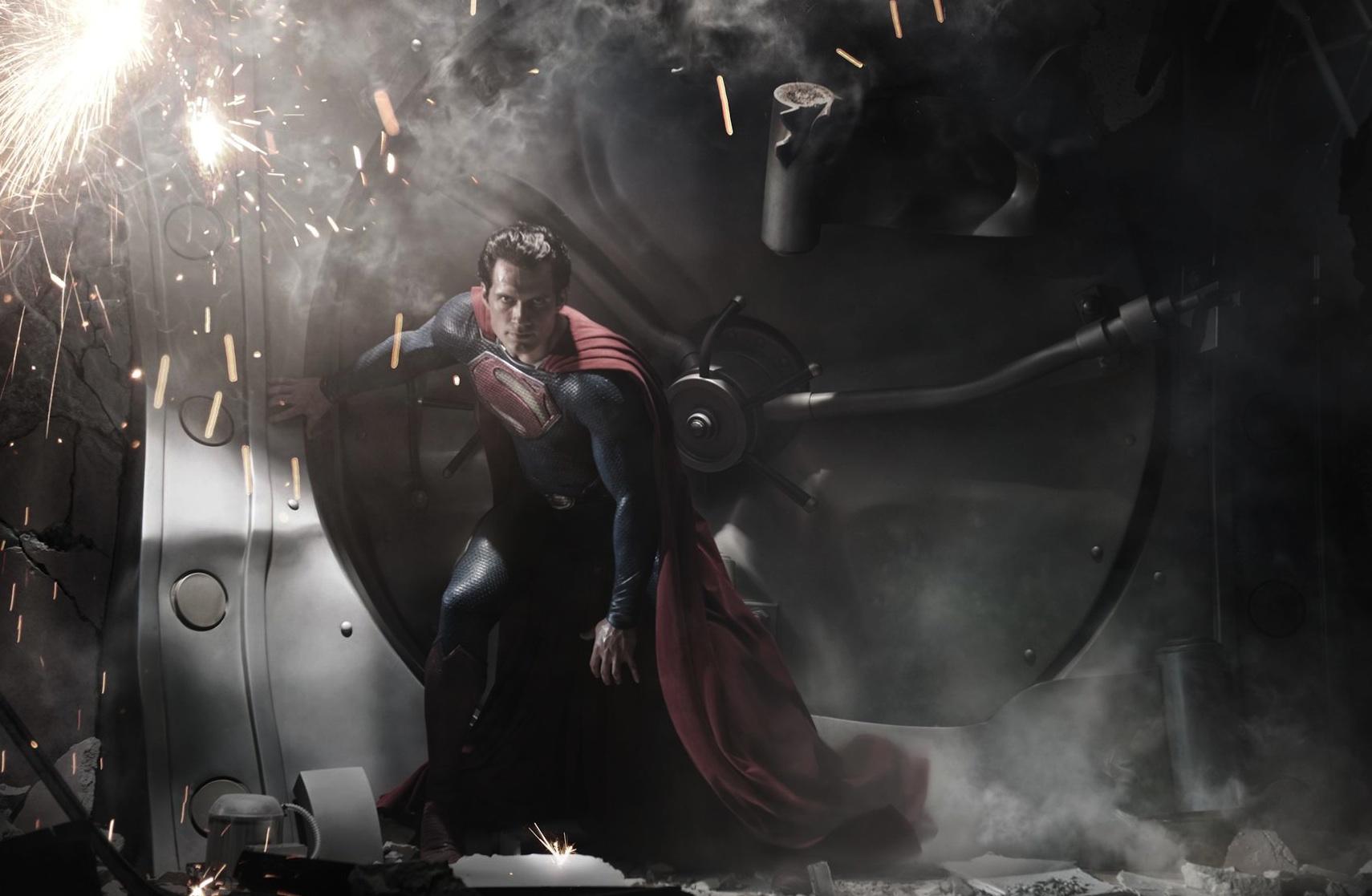 Man of Steel : première photo de Superman