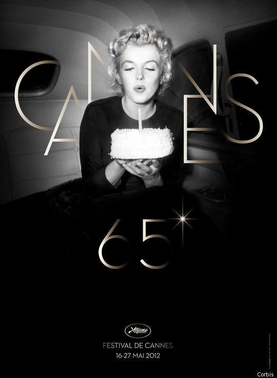 Cannes 2012: Marylin pour l'affiche des 65 ans