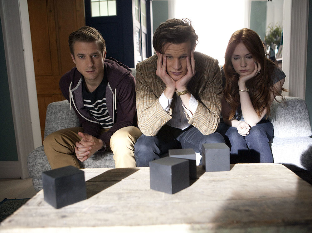 DOCTOR WHO «7×04 – The Power of Three»