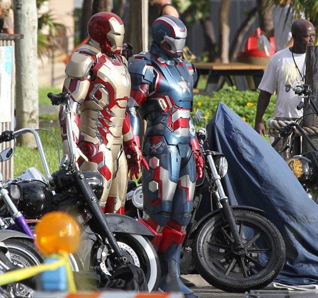 Iron Man 3 à la plage
