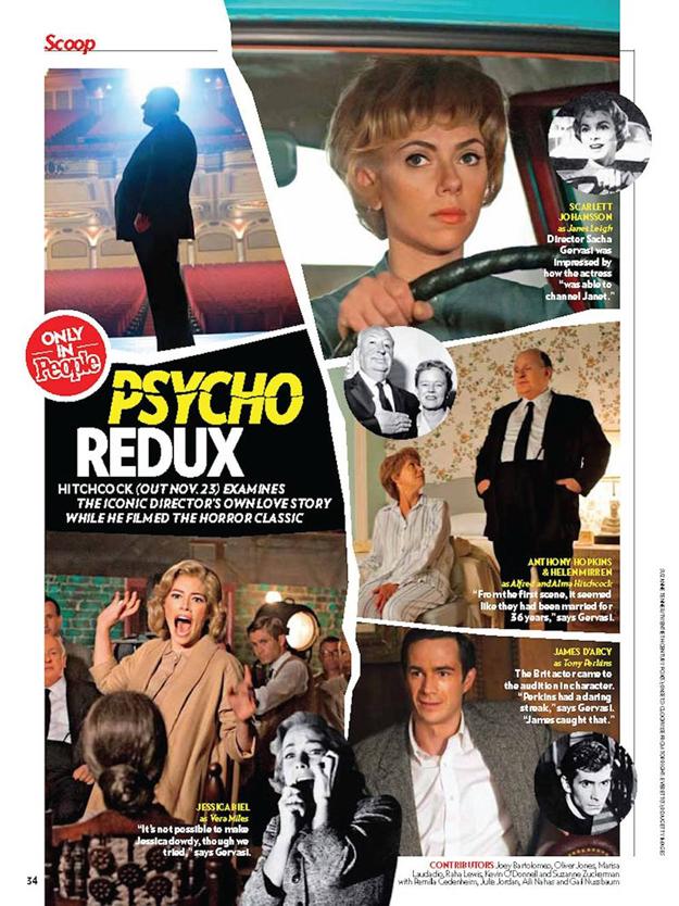 Hitchcock, les premiers visuels