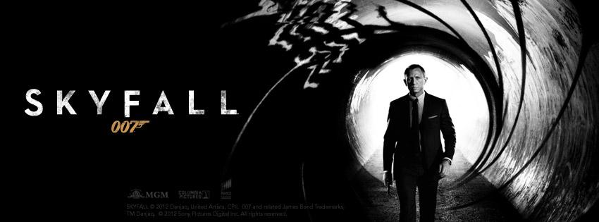SkyFall, le dernier James Bond tombe dans l'eau.