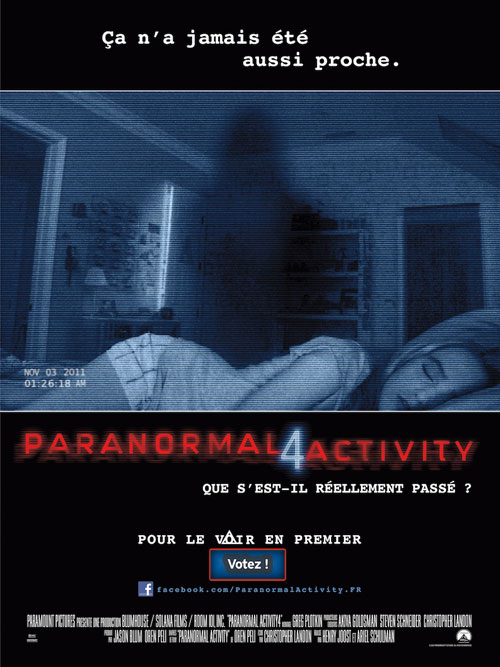 MOVIE MINI REVIEW : Paranormal Activity 4
