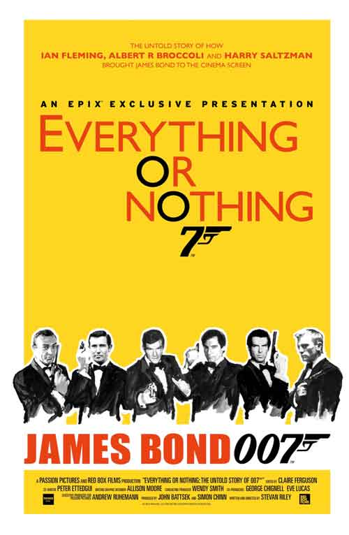 MOVIE MINI REVIEW : Everything Or Nothing – The Untold Story Of 007