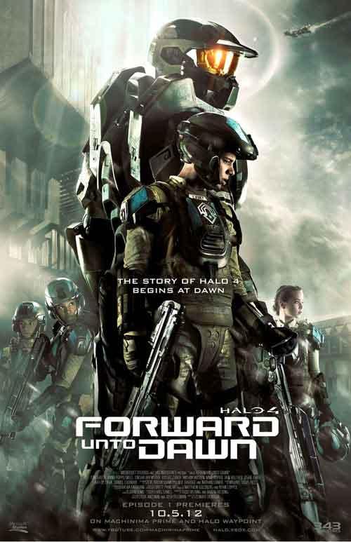 MOVIE MINI REVIEW : Halo 4 : Forward Unto Dawn