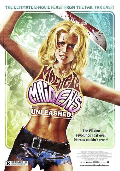 MOVIE MINI REVIEW : Machete Maidens Unleashed