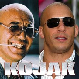 Kojak: le rôle deTelly Savalas tenu par Vin Diesel