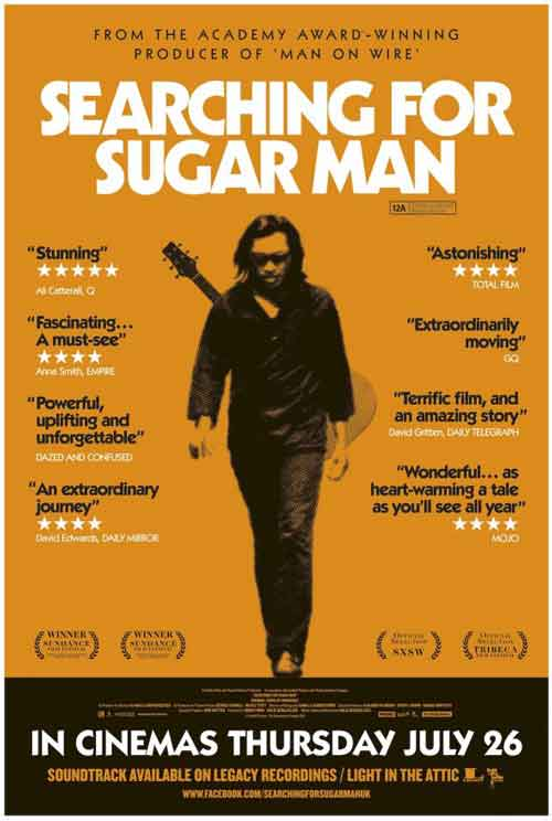 MOVIE MINI REVIEW : Searching For Sugar Man