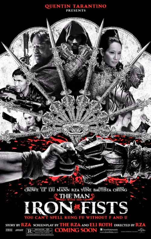 MOVIE MINI REVIEW : The Man With The Iron Fists