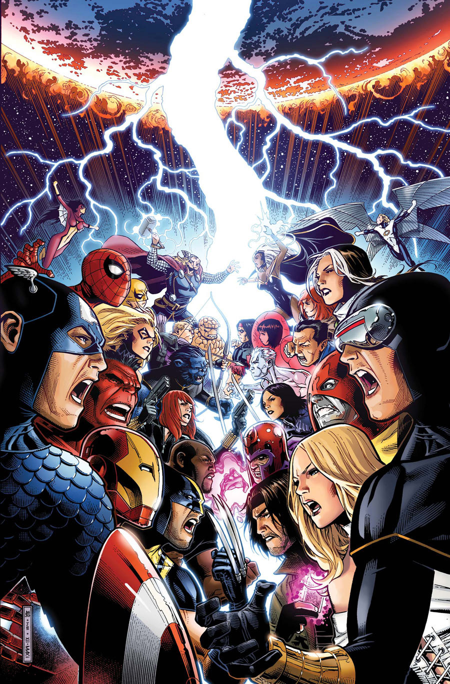 On a lu… Avengers vs X-men (épisode 1 à 6)