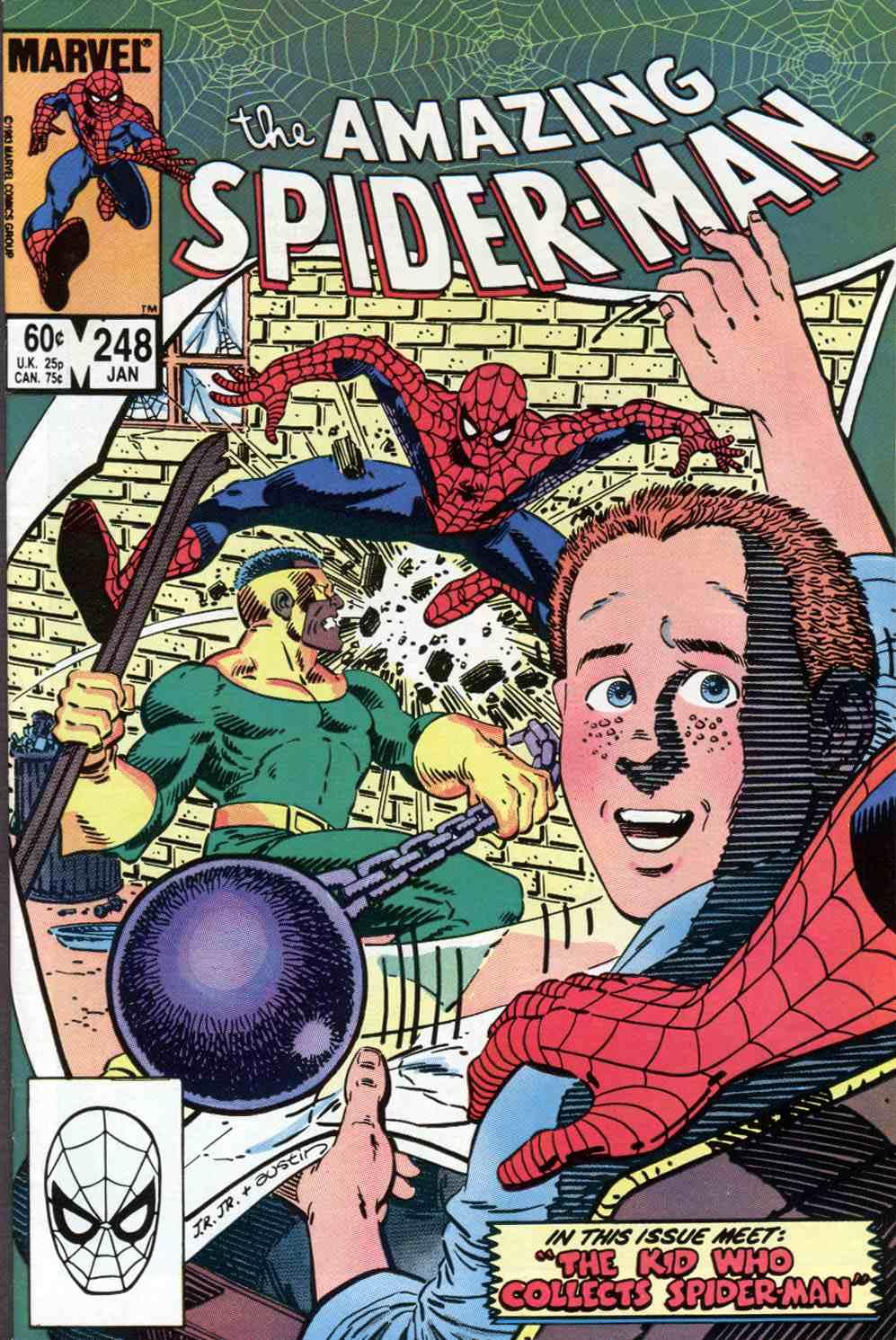 On a lu… Le garçon qui collectionnait Spider-man