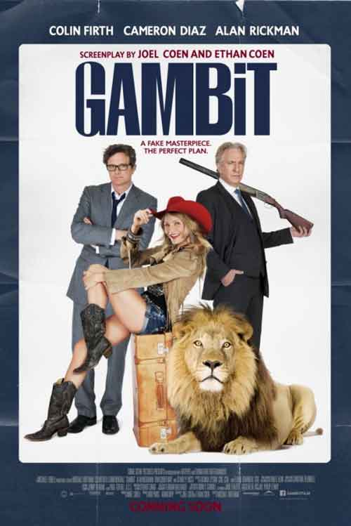 MOVIE MINI REVIEW : Gambit : Arnaque A L'Anglaise (aka Gambit)
