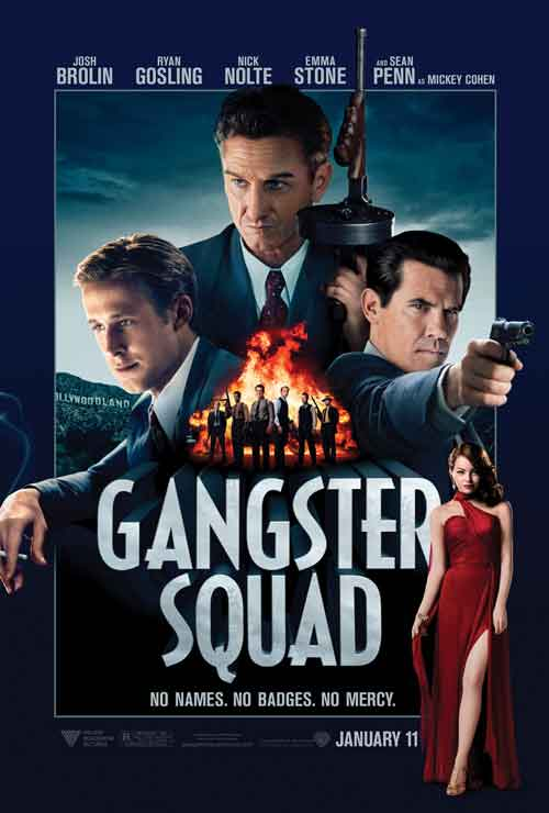 MOVIE MINI REVIEW : Gangster Squad