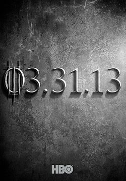 Premier trailer pour la saison 3 de Game Of Thrones !