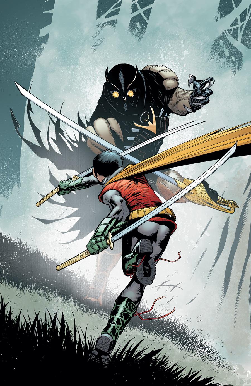 On a lu… Batman & Robin #9