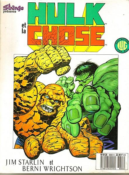 On a lu… Hulk et la Chose – Le Grand Chambardement