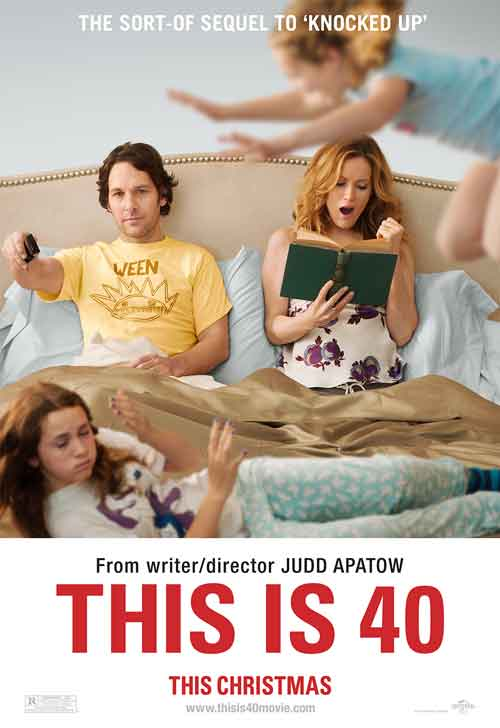 MOVIE MINI REVIEW : 40 Ans Mode D'Emploi (aka This Is 40)