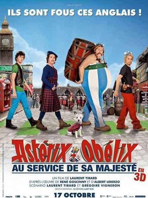 MOVIE MINI REVIEW : Asterix Et Obelix : Au Service De Sa Majesté