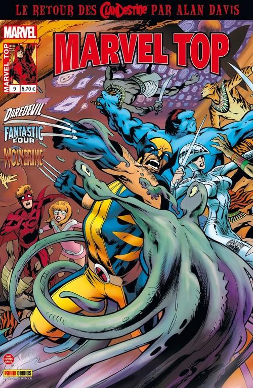 On a lu… Marvel Top N°9