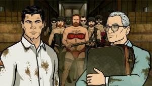 Archer et Ron Cadillac, qui reçoivent du monde