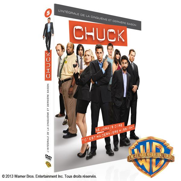 Concours : Gagnez la saison 5 de Chuck