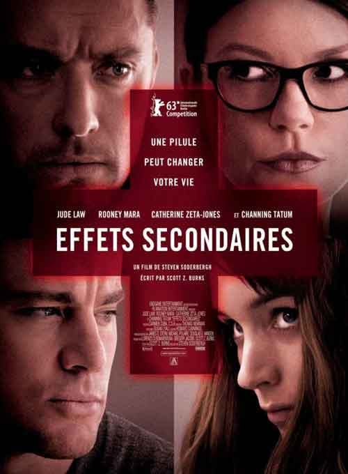 MOVIE MINI REVIEW : Effets Secondaires (aka Side Effects)