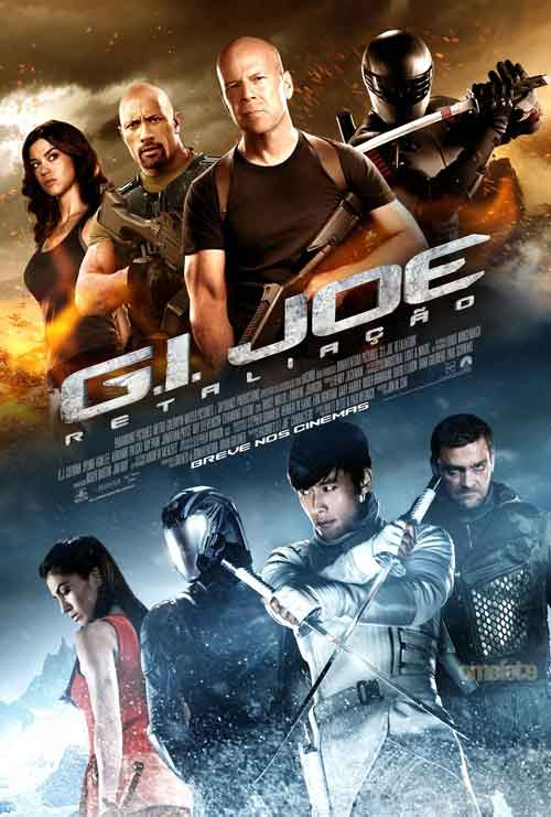 MOVIE MINI REVIEW : G.I. Joe : Conspiration (aka G.I. Joe : Retaliation)