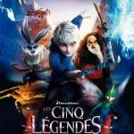 MOVIE MINI REVIEW : Les Cinq Légendes (aka Rise Of The Guardians)