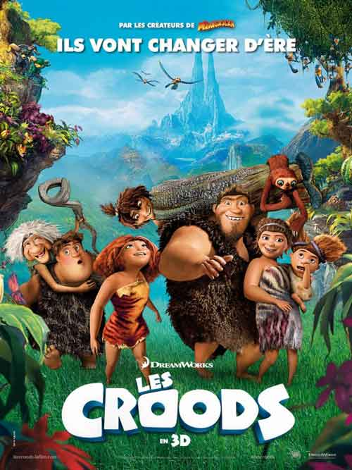 MOVIE MINI REVIEW : Les Croods (aka The Croods)