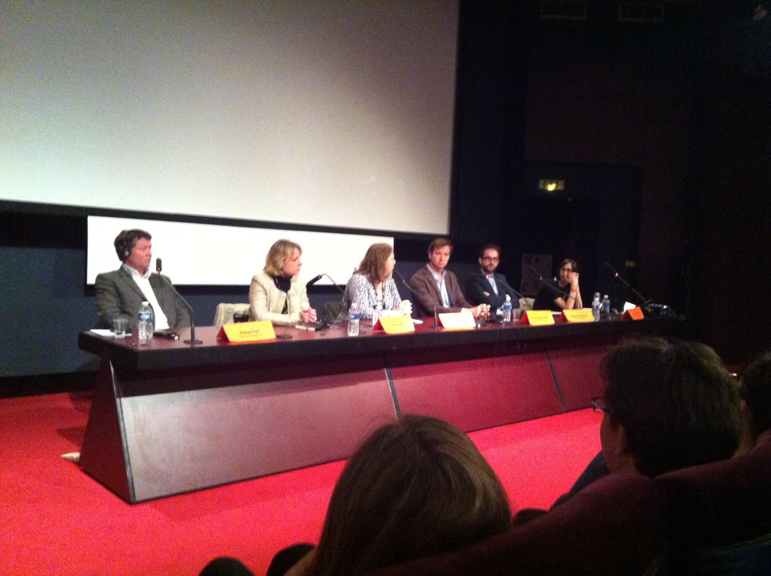Séries Mania, saison 4 : Conférence sur les coproductions européennes
