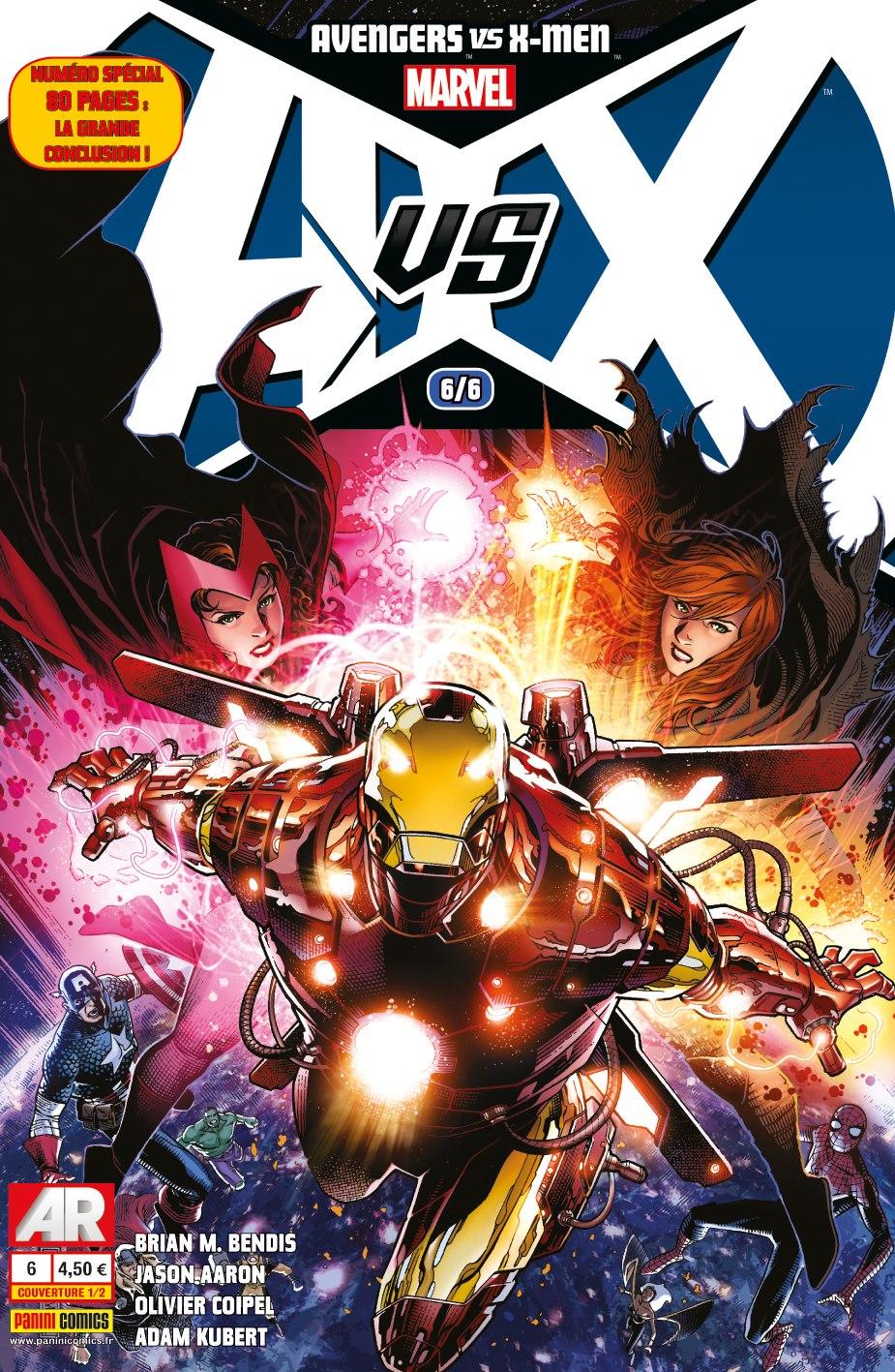 On a lu… Avengers vs X-men – Bilan
