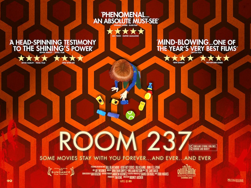 In bed with Stanley Kubrick (critique de Room 237, de Rodney Ascher)