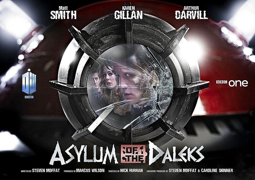DOCTOR WHO 7×01 – Asylum of the Daleks (Critique de l'épisode)
