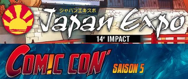 Japan Expo, Comic Con Paris : les annonces de dernière minute !