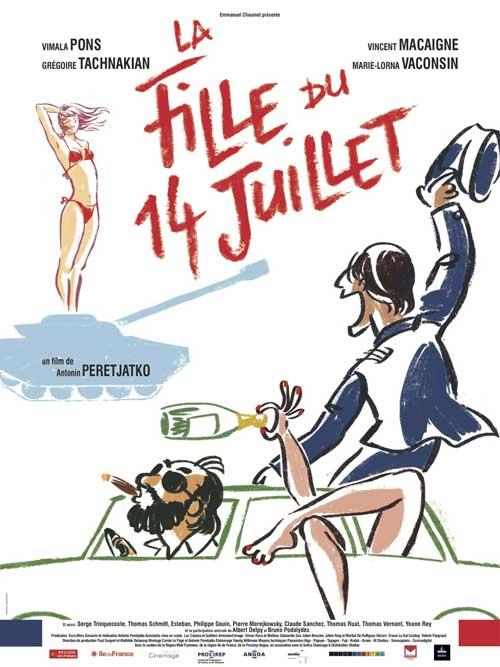 MOVIE MINI REVIEW : La Fille Du 14 Juillet