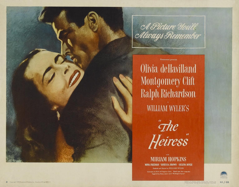 La Séance du Père Sheppard : The Heiress, de William Wyler (L'héritière, 1949)