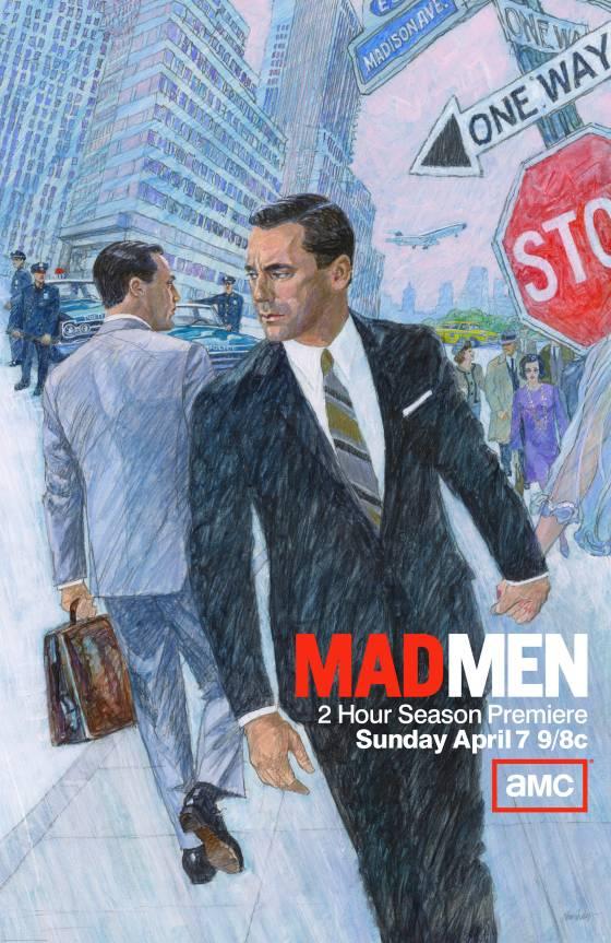 Revue de Presse : Mad Men, la saison qui fait «Buzz»