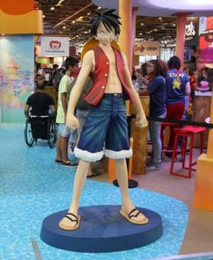 Luffy surveille son stand