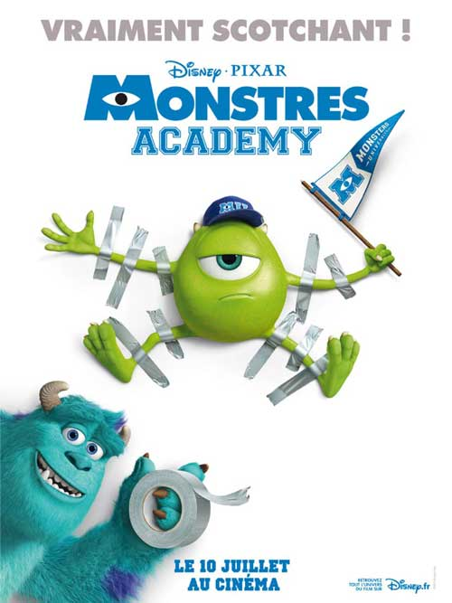 MOVIE MINI REVIEW : Monstres Academy
