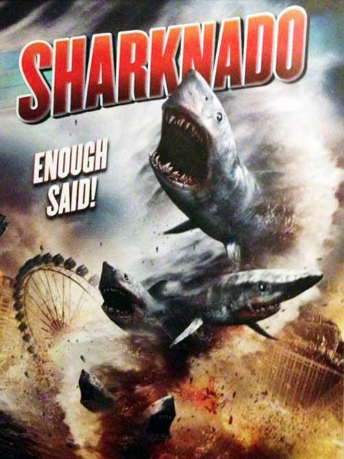 MOVIE MINI REVIEW : Sharknado