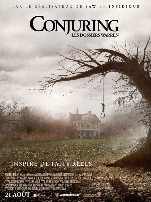 MOVIE MINI REVIEW : Conjuring : Les Dossiers Warren