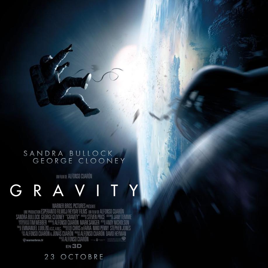 Astronomique Trailer ! Gravity de Alfonso Cuarón : du plaisir pour les yeux et les oreilles