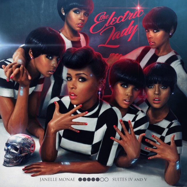 Music Mini Review : Janelle Monàe – The Electric Lady (Bad Boy/Warner)