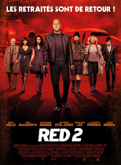 MOVIE MINI REVIEW : Red 2
