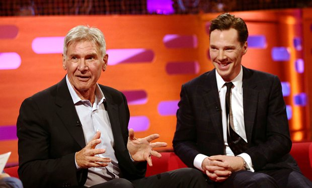 Harrison Ford et Benedict Cumberbatch sur Star Wars VII